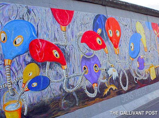 The Berlin Wall- East Side Gallery