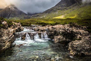 Fairy Pools in the Isle of Skye.