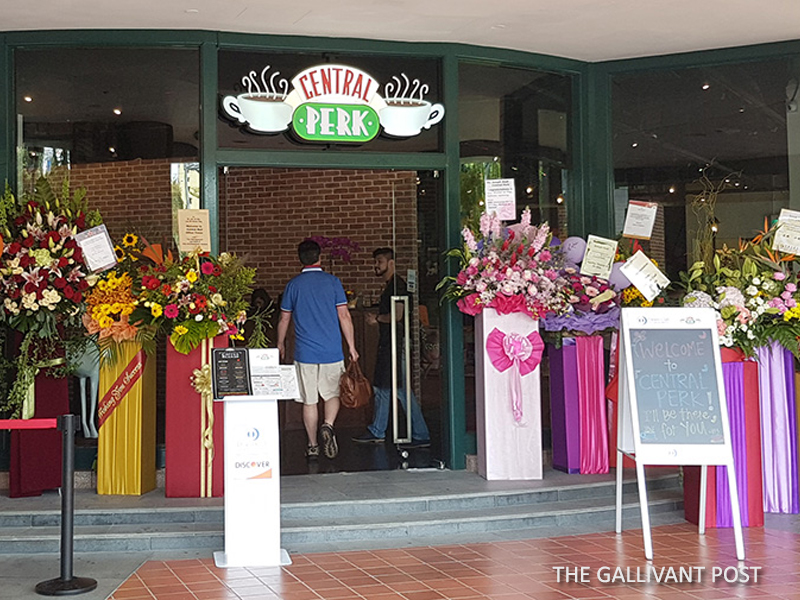 Central Perk opens in Singapore