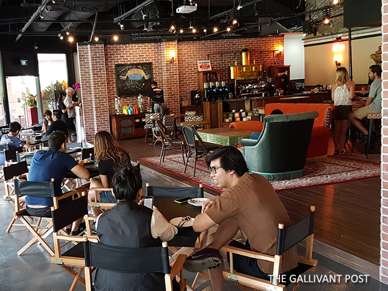 Central Perk cafe at Central Mall, Singapore