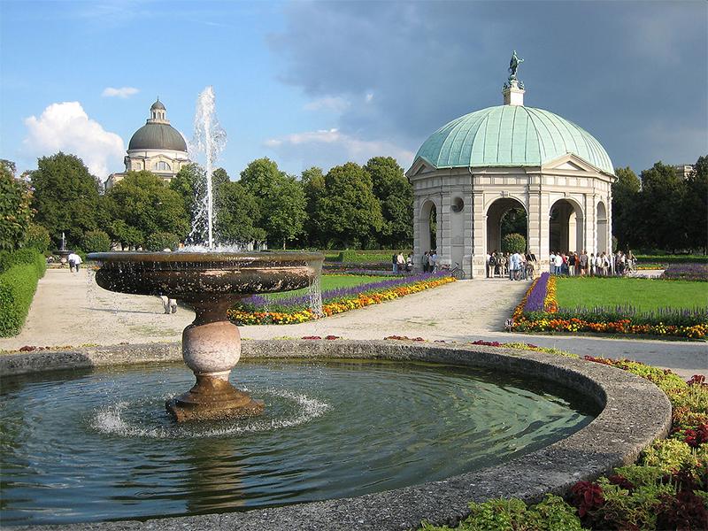 Munich Residence Gardens