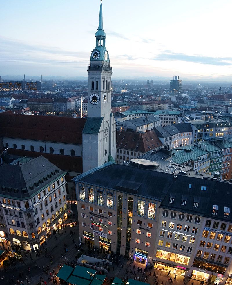 The Peterskirche in Munich