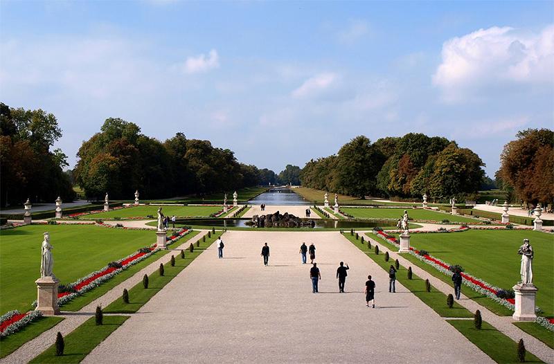 Schloss Nymphenburg Gardens
