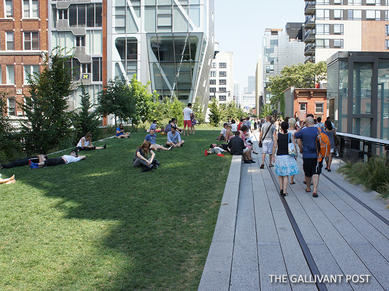 Take a siesta at the High Line in New York