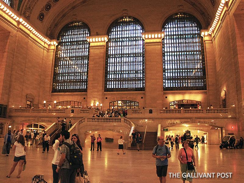 Admire historic Grand Central in New York