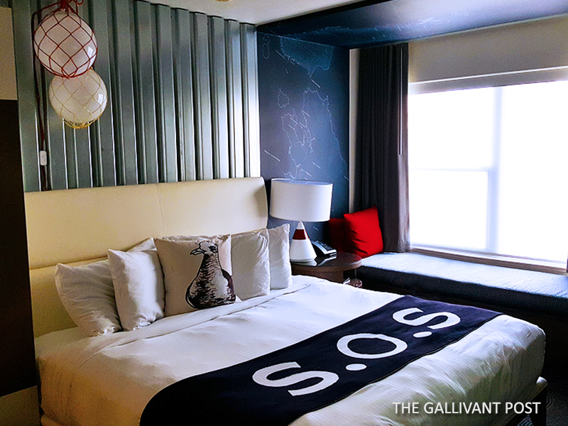 Hotel Zephyr room