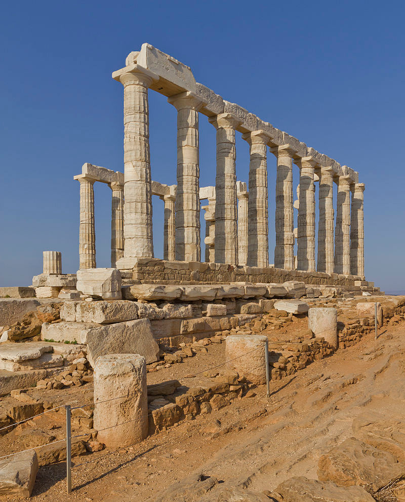 Temple of Poseidon in Cape Sounion