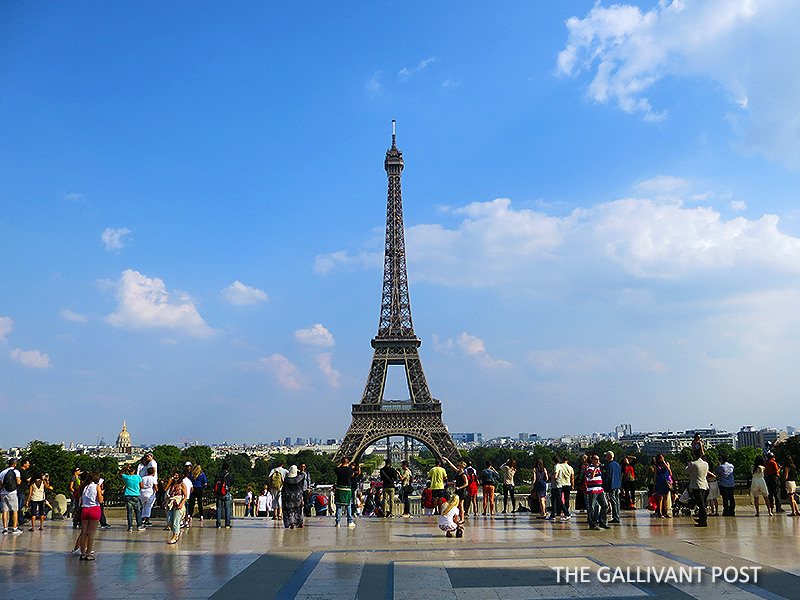 Eiffel Tower from far