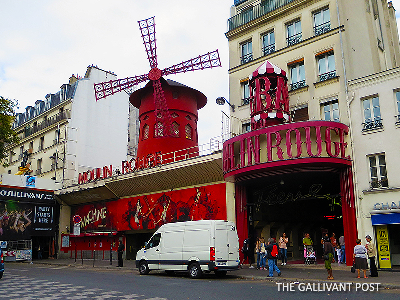 Moulin Rouge in Monmartre