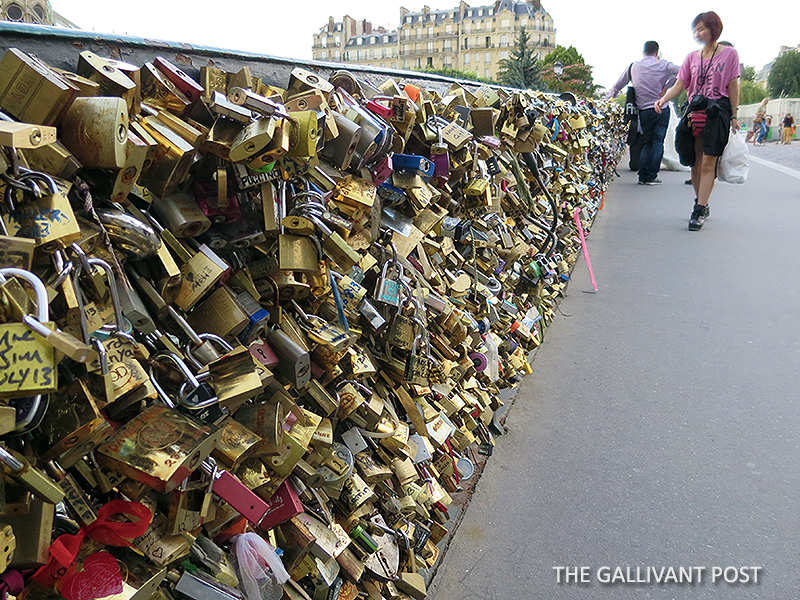 Pont des Arts (Love Lock Bridge)