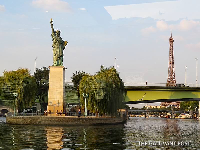 Statue of Liberty in Paris.