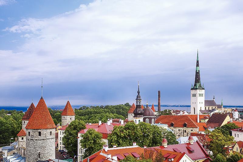 View of Tallinn Old Town