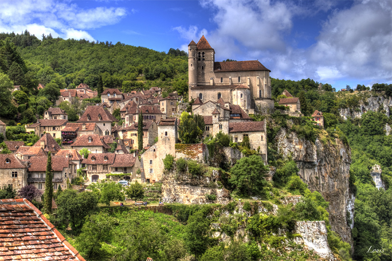 The Houses of Saint Cirq Lapopie