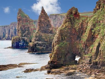 At the Duncansby Stacks