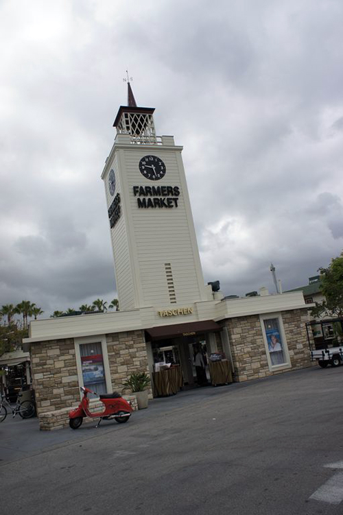The Clock Tower at The Farmer's Market