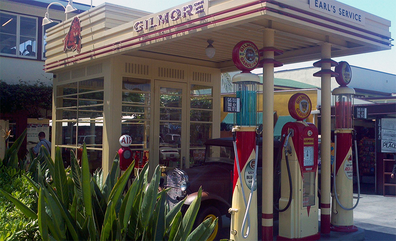 The Gilmore Gas Station