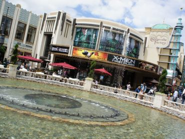 The Grove in Fairfax, Los Angeles.